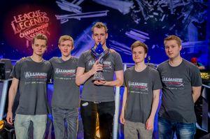 Alliance vant Europa-finalen.