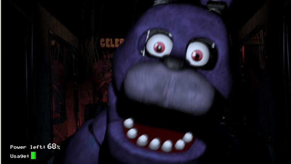 Kan du overleve fem netter hos Freddy's?
