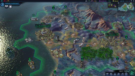 Civilization-spillere vil raskt kjenne igjen oppsettet. (Bilde: 2K).