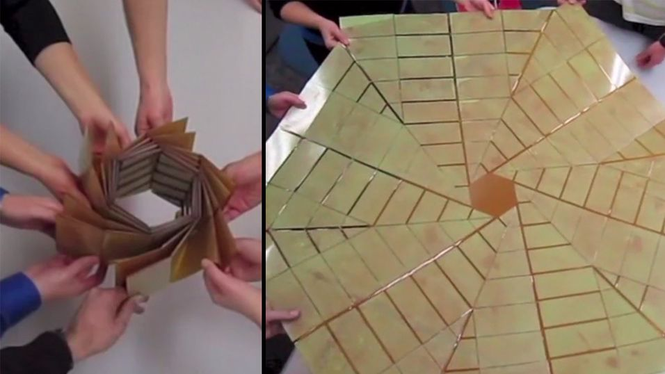 Framtidens solpaneler kan brettes som origami