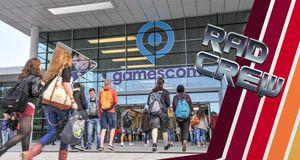 Rad Crew har vært på Gamescom for første gang