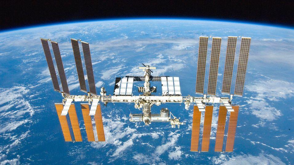 Den internasjonale romstasjonen, ISS.