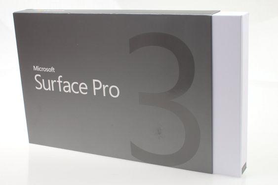 Microsoft Surface Pro 3 i innpakket tilstand.