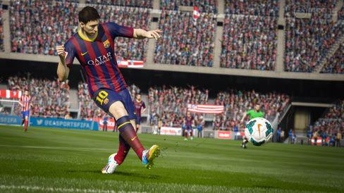 Ballen går i FIFA 15.