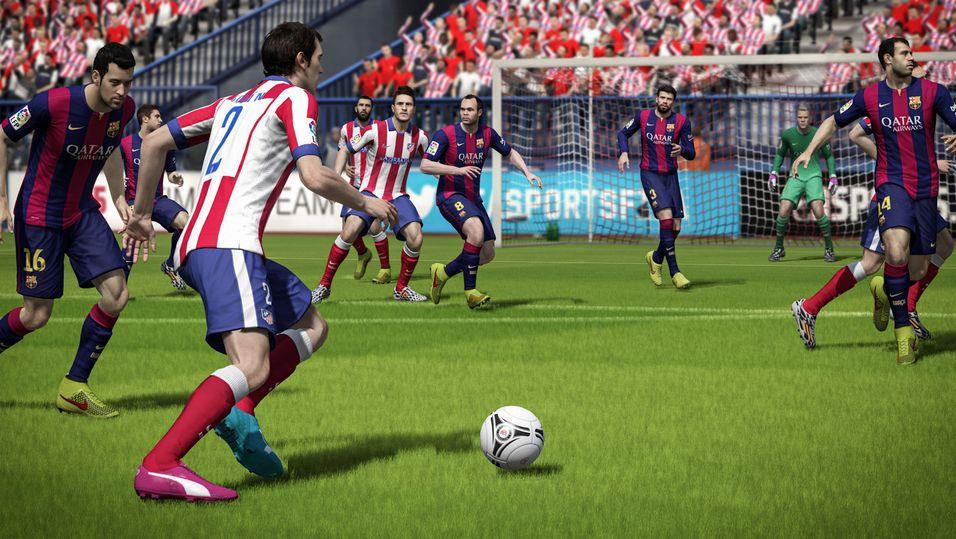 FIFA 15 mister egenskaper på Xbox 360 og PlayStation 3.