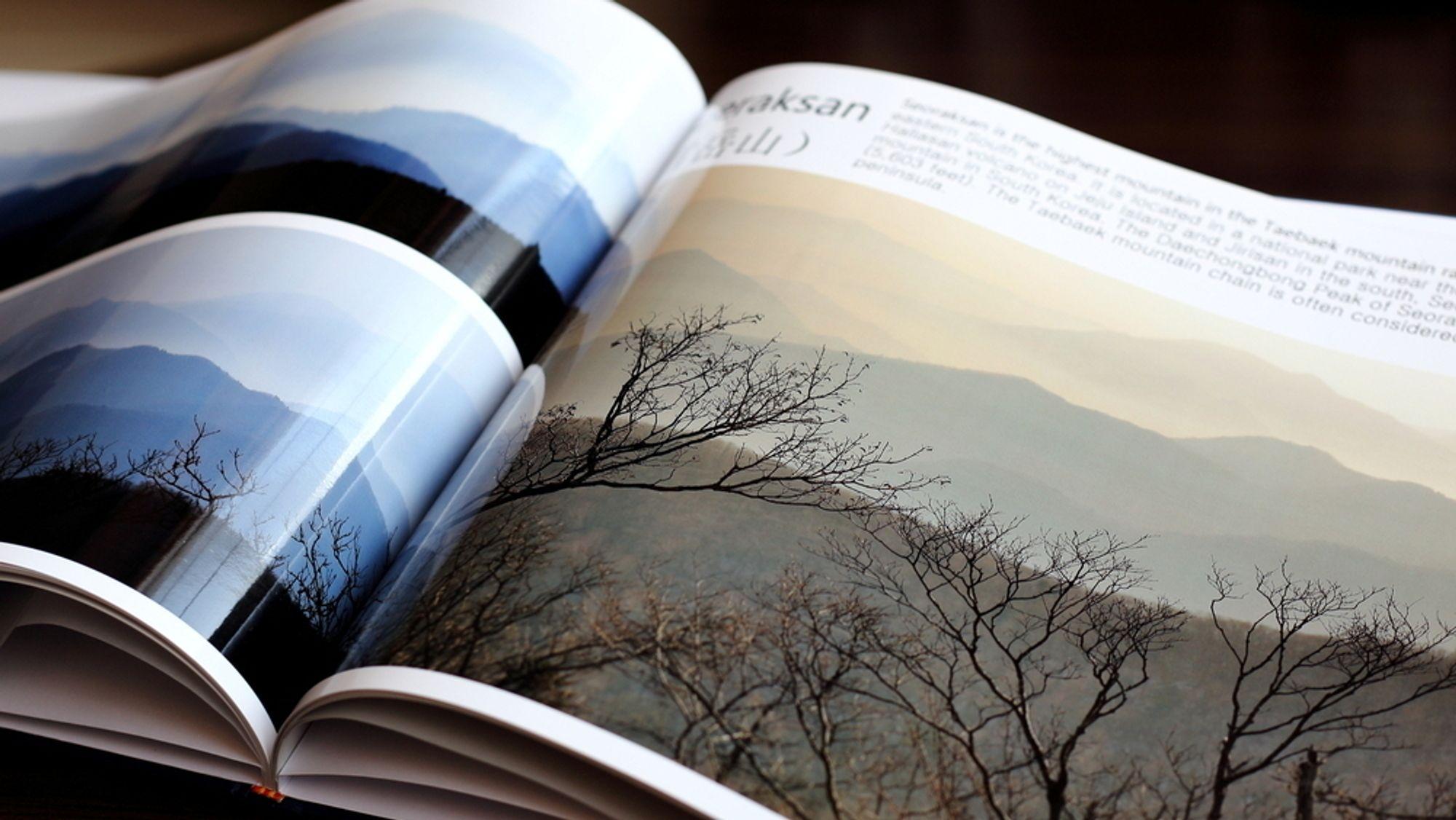Vis frem bildene dine med en fotobok
