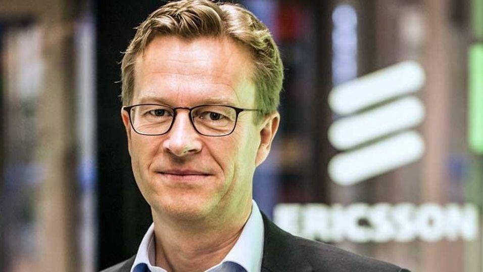 Administrerende direktør Aksel Aanensen i Ericsson er glad for avtalen med Broadnet.