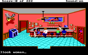 Leisure Suit Larry var basert på et teksteventyrspill som het Softporn Adventure.