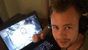 Turneringsarrangør Fredrik Lund Buer er fornøyd med innsatsen. .