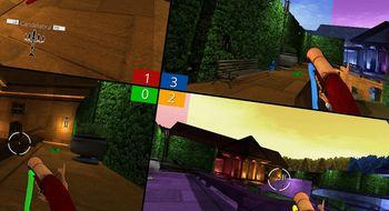 I skytespillet Screencheat er spillerne usynlige