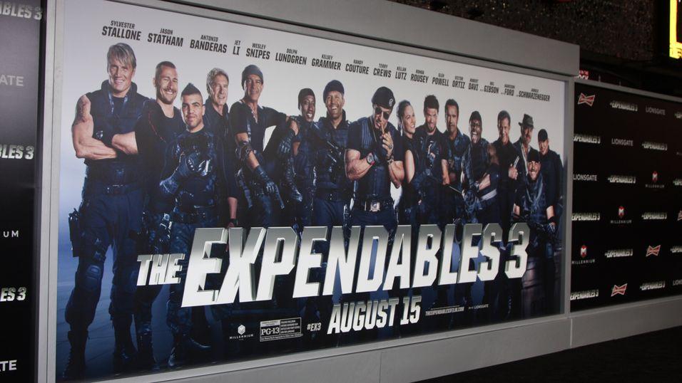 Pirater arrestert for lekking av actionfilmen «The Expendables 3»