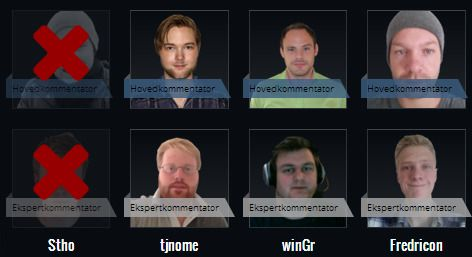 Disse Counter-Strike-kommentatorene er videre.