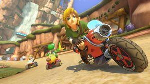 Snart kan du spille som Link i Mario Kart 8