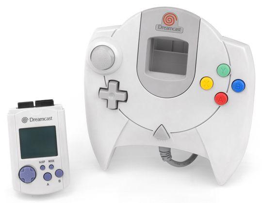 Segas Dreamcast-kontroller kom med en egen port for å koble til ulikt tilbehør.