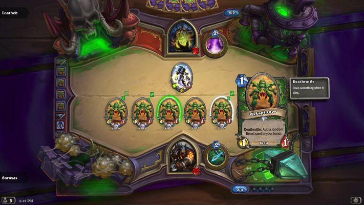 Hearthstone: Curse of Naxxramas