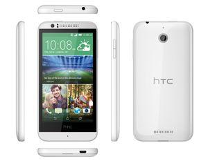 HTC Desire 510 fås i både mørk grå og hvit.