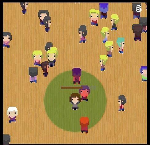 Social Situasion Simulator 3000 kalles spillet, og det handler om promping.