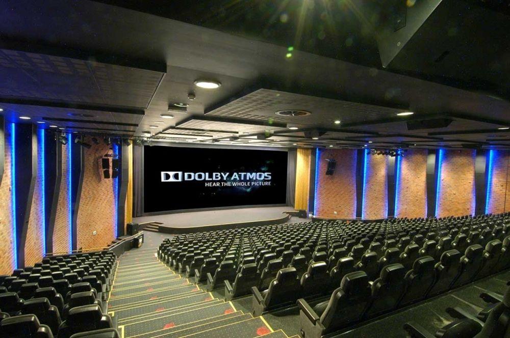 Kristiansand Kino var tidlig ute med å installere Dolby Atmos. .