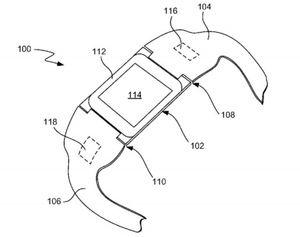 Fra Apples «iTime»-patentsøknad.