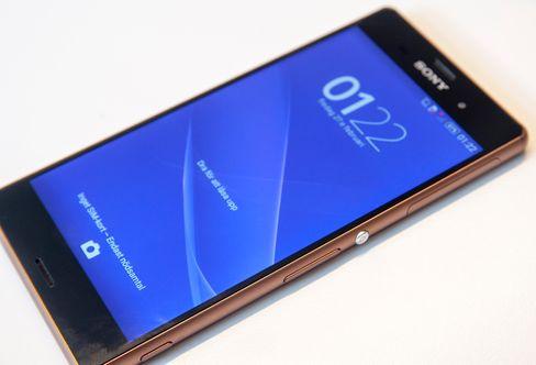 Sony trekker skjermen stadig lenger ut mot kantene av telefonen.