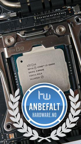 Anbefales: Intel Core i7 4960X.