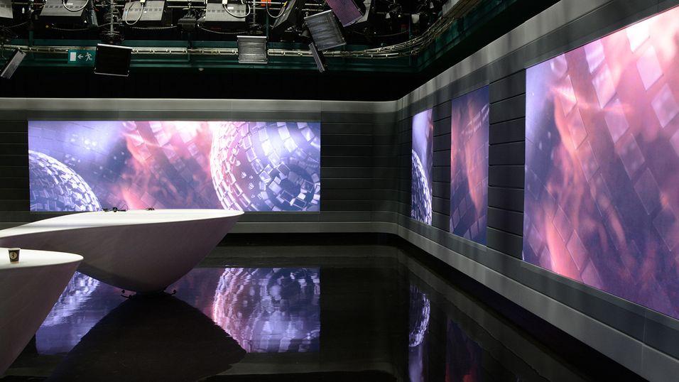 Dette NRK-studioet er verdens første av sitt slag