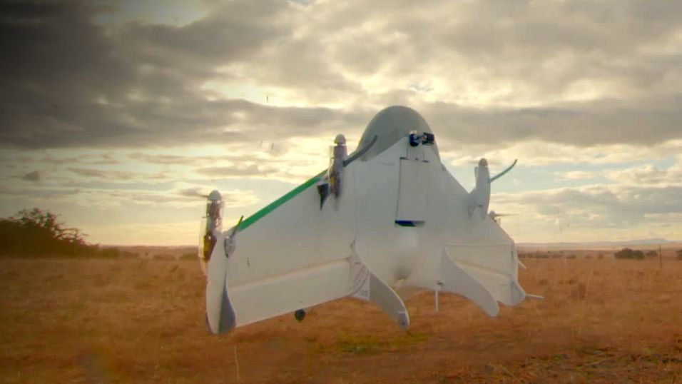 Google viste frem dronen sin