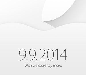 I år kjører Apple invitasjoner helt uten hint.