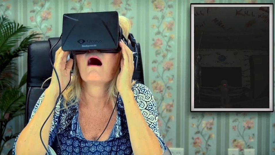 Se den eldre garde prøve Oculus Rift
