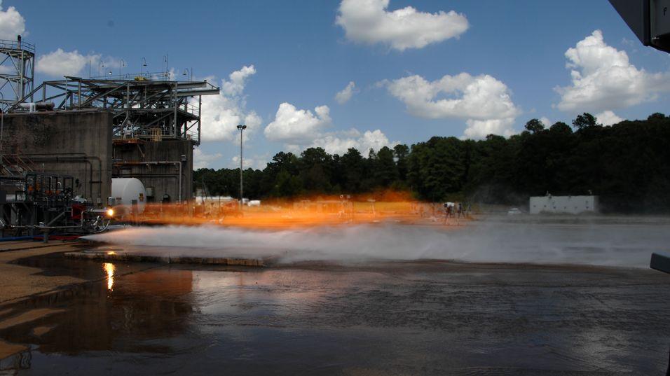 3D-skrevet rakettdel tålte hele 3300 grader