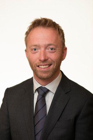 Statssekretær John-Ragnar Aarset.