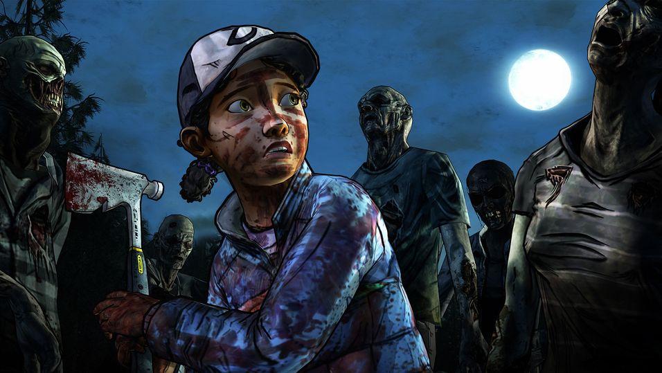 Bildet er tatt fra The Walking Deads andre sesong.