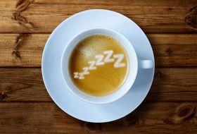 Kaffe er en god kilde til koffein. .
