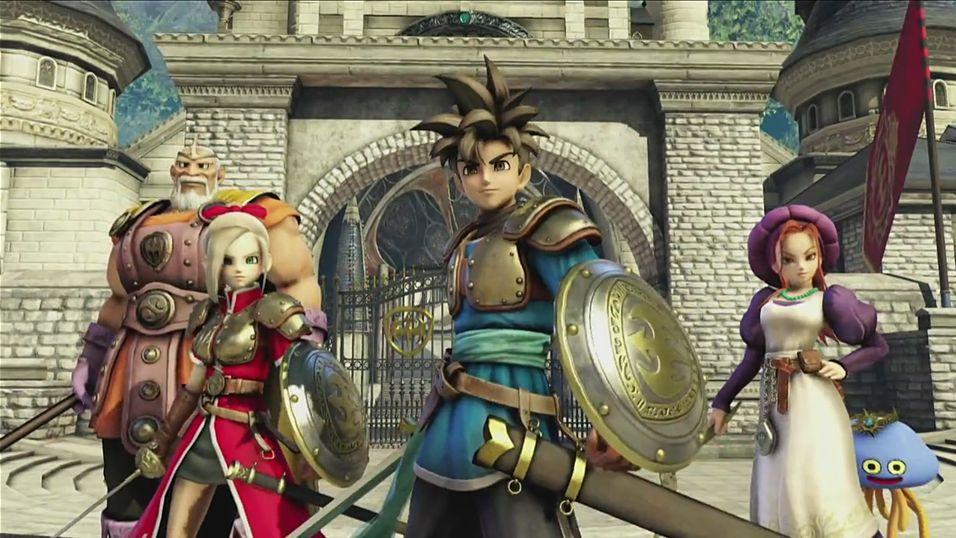 Hektisk action i neste Dragon Quest