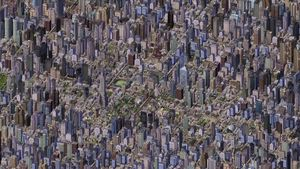 Denne SimCity 4-byen har 107 millioner innbyggere