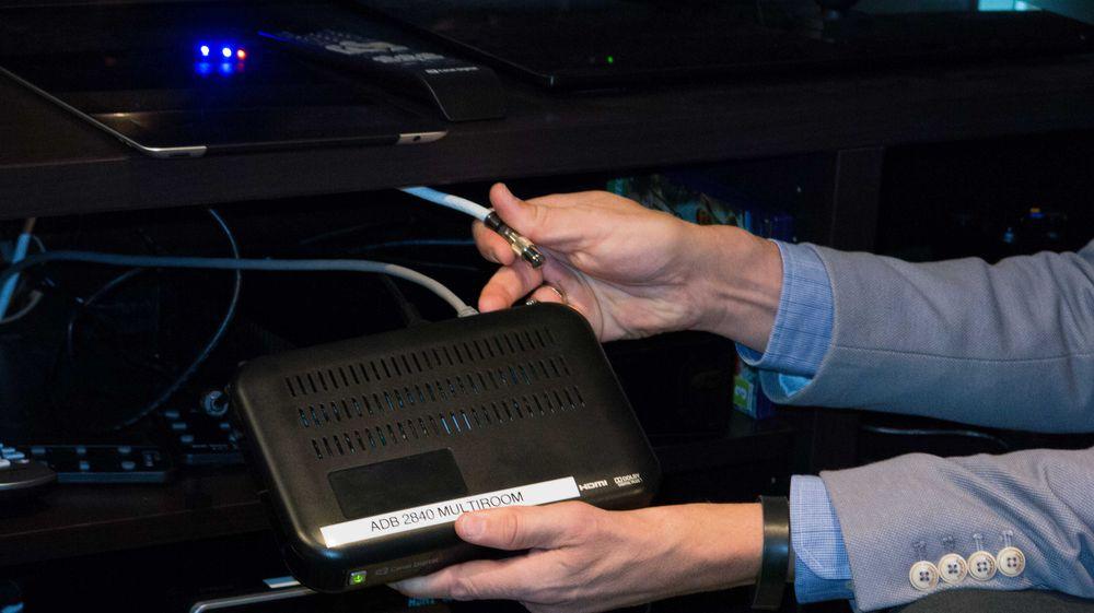 Se TV fra en såkalt «zapper» uten TV-kabelen plugget i. .