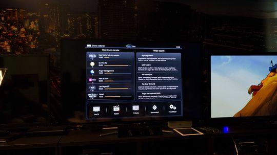 Slik ser grensesnittet ut på iPad. .