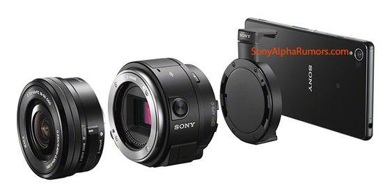 Sony QX1.