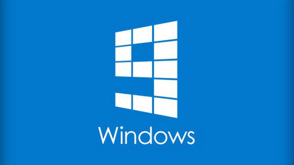 Slik så den uoffisielle Windows 9-logoen ut.