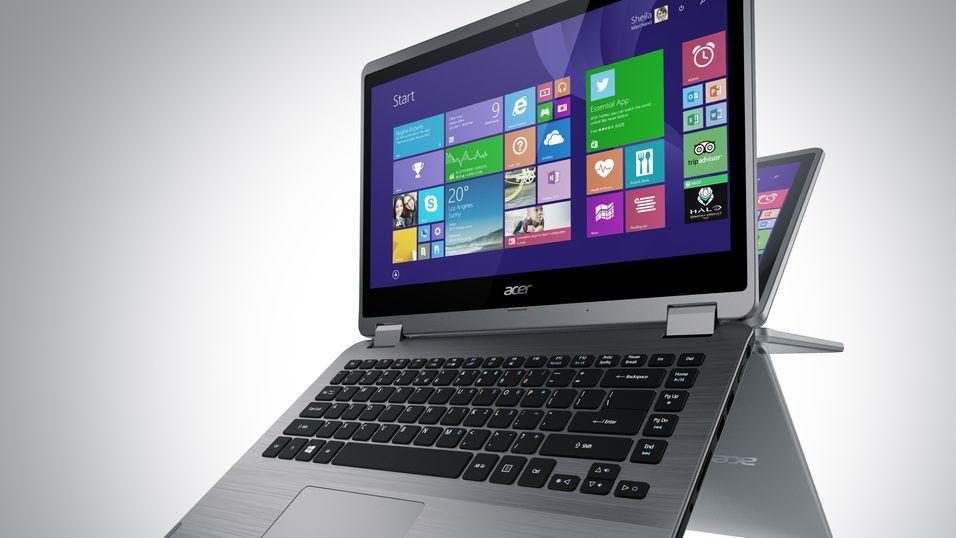 Acers nye bærbare svinger hele veien rundt