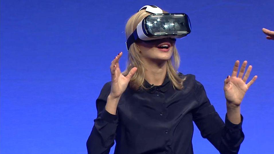 Samsung har lansert sin egen VR-brille