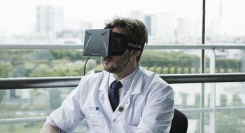 Din neste lege kan ha trent med Oculus Rift