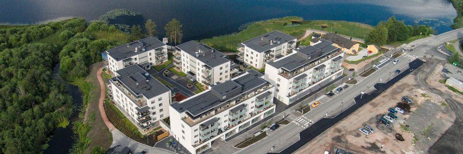 Boligprosjektet Heggeodden i Asker kommune i Akerhus er ett av JM Norges prosjekter hvor Altibox skal levere fiberbaserte nett- og tv-opplevelser.