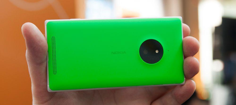 Lumia 830 skal være inngangsmodellen med optisk stabilisert PureView-kamera. Denne gang er oppløsningen bare på 10 megapiksler.
