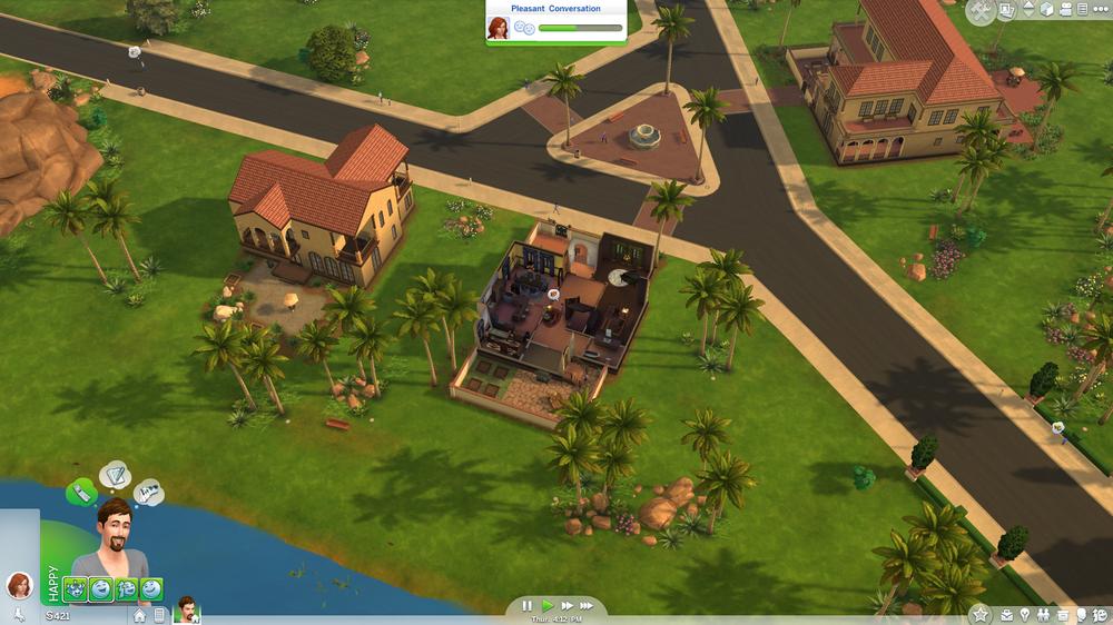 Du kan zoome langt ut, men ikke besøke naboene uten en lasteskjerm.
