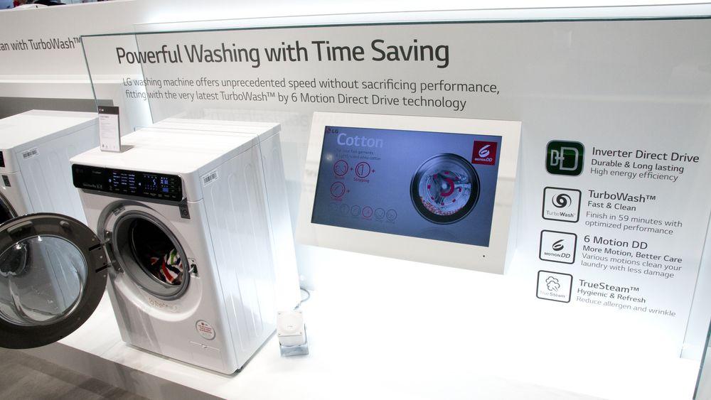 Denne vaskemaskinen kan du programmere via mobilen