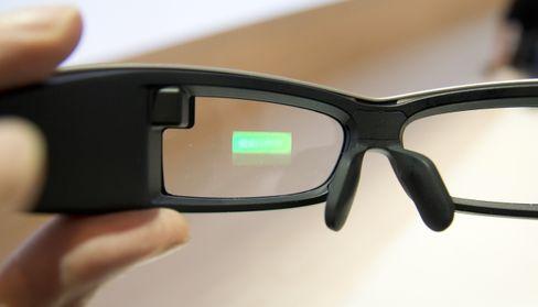 Sony har også smartbriller på gang.