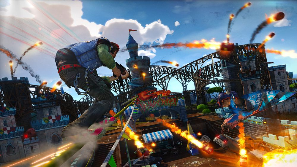 SNIKTITT: Sunset Overdrive