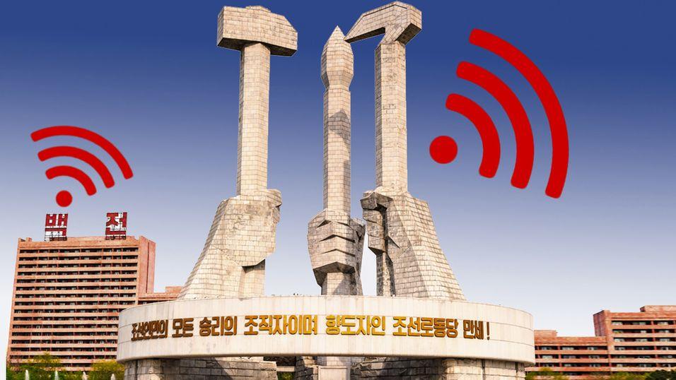 26 internasjonale ambassader i Pyongyang har blitt bedt om å skru av WiFi-signalene sine for godt.