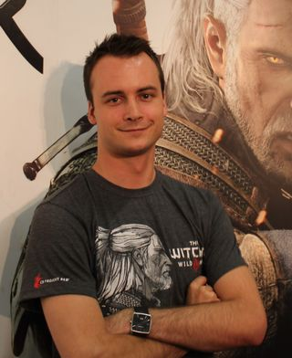 Stan Just er «art producer» for The Witcher 3: Wild Hunt.